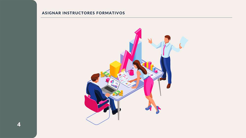 Asignar Instructores
