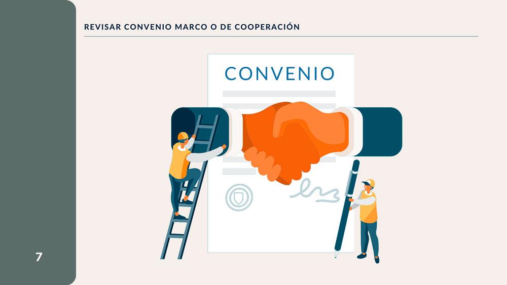 Revisar Convenio Marco de Cooperación